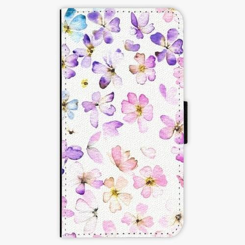 Flipové pouzdro iSaprio - Wildflowers - Huawei Nova