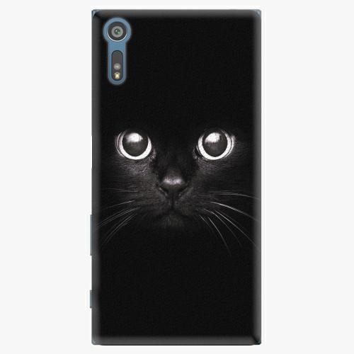 Plastový kryt iSaprio - Black Cat - Sony Xperia XZ