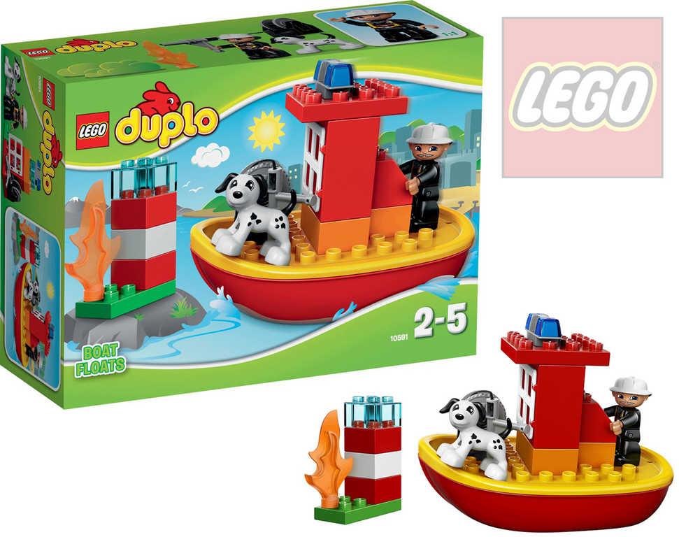 LEGO DUPLO Hasičský člun 10591