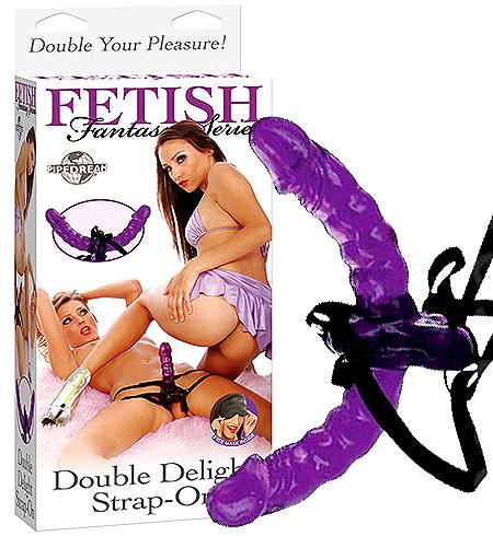 Připínací penis FF Double Delight Strap On