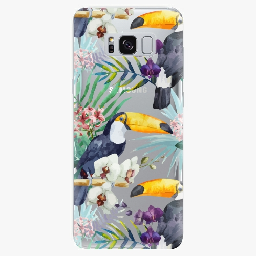 Plastový kryt iSaprio - Tucan Pattern 01 - Samsung Galaxy S8 Plus