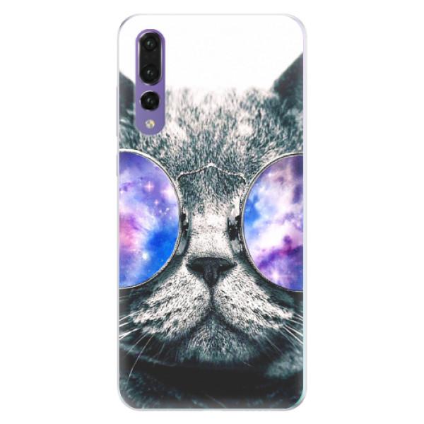 Silikonové pouzdro iSaprio - Galaxy Cat - Huawei P20 Pro
