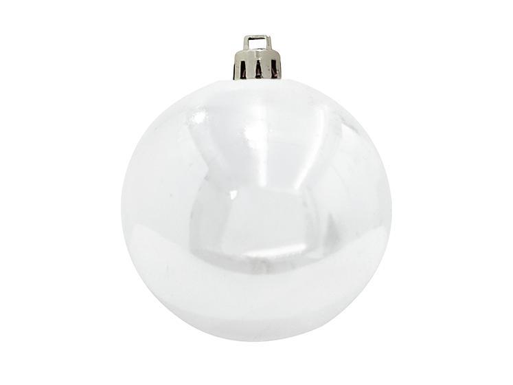 Vánoční dekorační ozdoba, 20 cm, bílá, 1 ks
