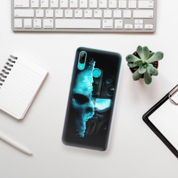 Odolné silikonové pouzdro iSaprio - Roboskull - Huawei P Smart 2019