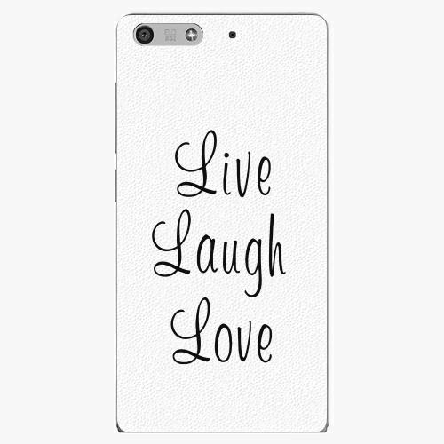 Plastový kryt iSaprio - Live Laugh Love - Huawei Ascend P7 Mini