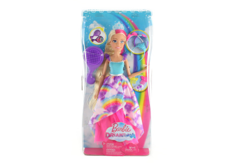 Barbie Vysoká dlouhovláska blondýnka FXC80