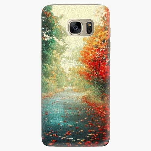 Plastový kryt iSaprio - Autumn 03 - Samsung Galaxy S7 Edge