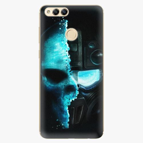 Plastový kryt iSaprio - Roboskull - Huawei Honor 7X