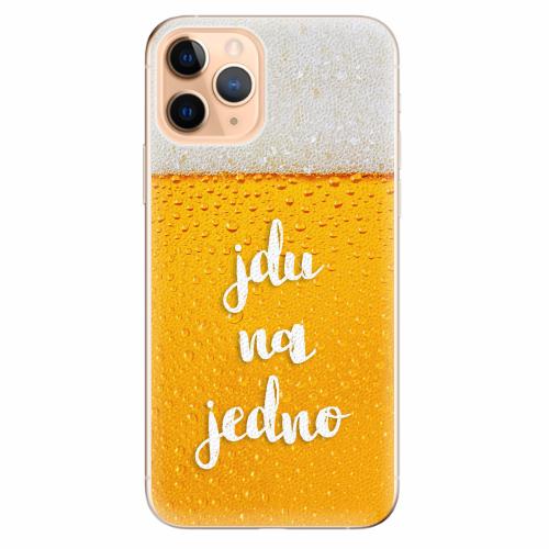 Silikonové pouzdro iSaprio - Jdu na jedno - iPhone 11 Pro