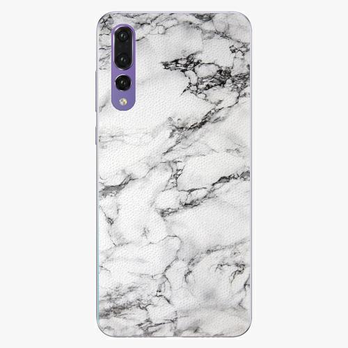 Plastový kryt iSaprio - White Marble 01 - Huawei P20 Pro