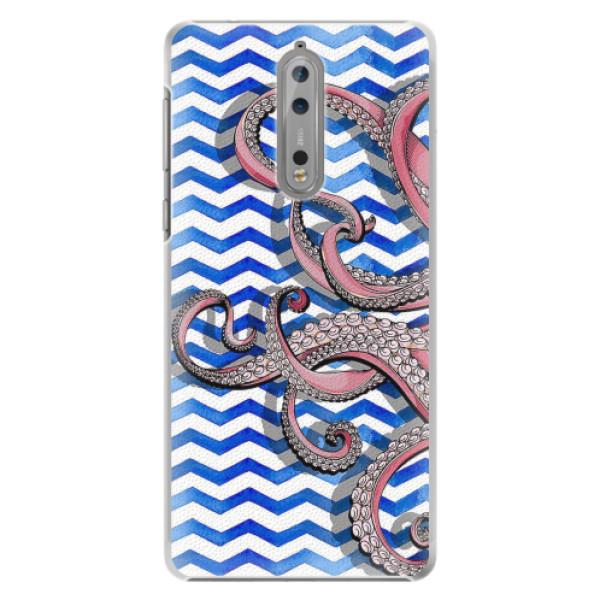 Plastové pouzdro iSaprio - Octopus - Nokia 8
