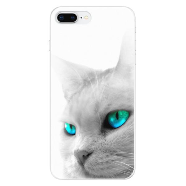 Odolné silikonové pouzdro iSaprio - Cats Eyes - iPhone 8 Plus