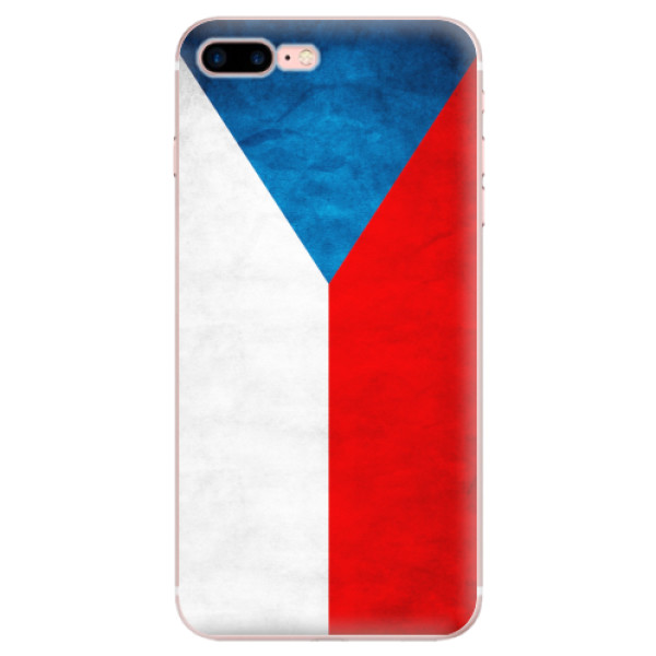 Odolné silikonové pouzdro iSaprio - Czech Flag - iPhone 7 Plus