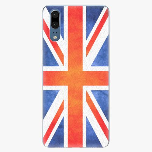 Silikonové pouzdro iSaprio - UK Flag - Huawei P20