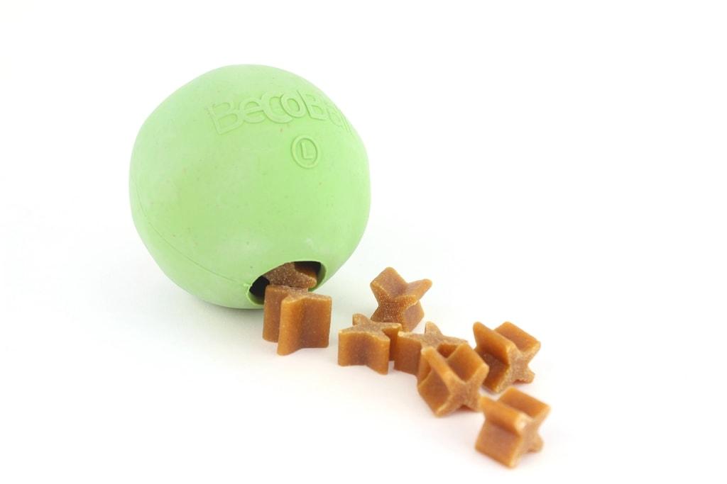 Míček na pamlsky pro psa Beco Ball - Modré