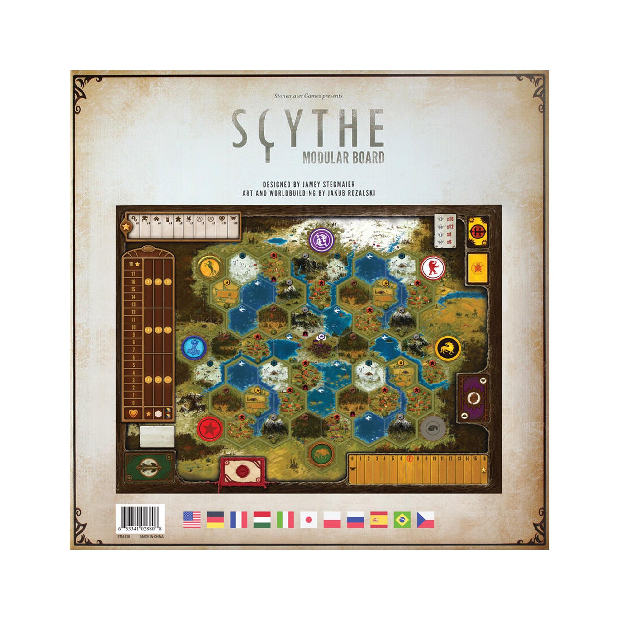 Scythe - Modulární herní plán