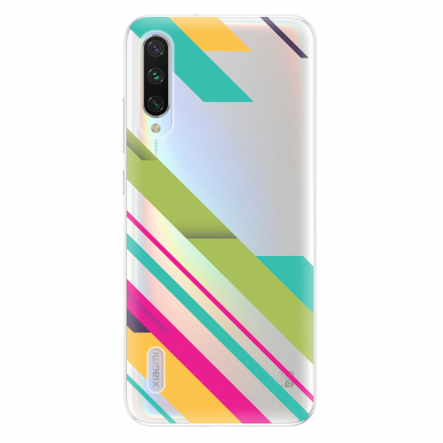 Silikonové pouzdro iSaprio - Color Stripes 03 - Xiaomi Mi A3