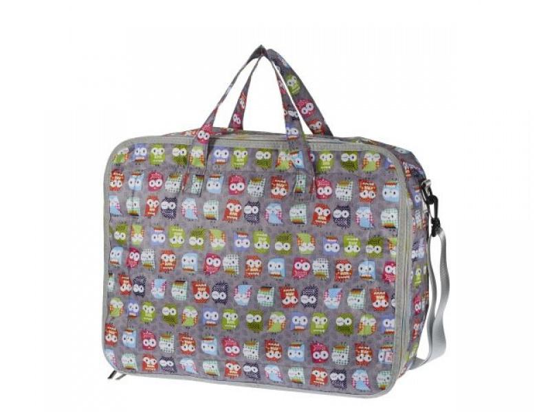 My Bags - Kufřík se sovičkami