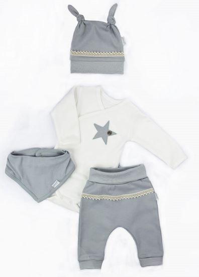 nicol-svatecni-komplet-obleceni-star-4-dilny-sedy-vel-62-62-2-3m