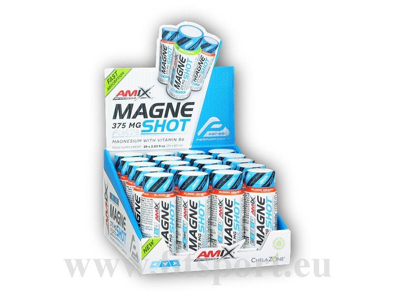 MIX Magne Shot Forte 375mg 20x60ml