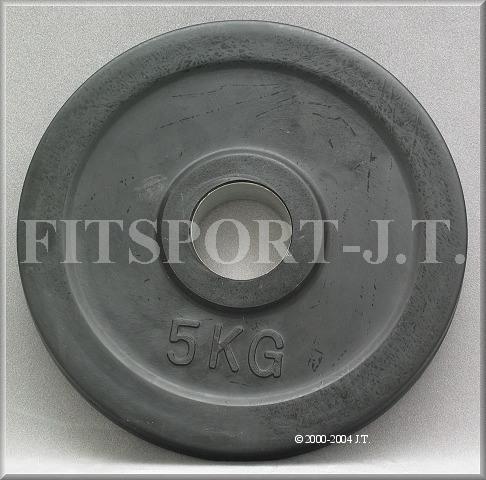 Časfitness Kotouč olympijský 5kg černý