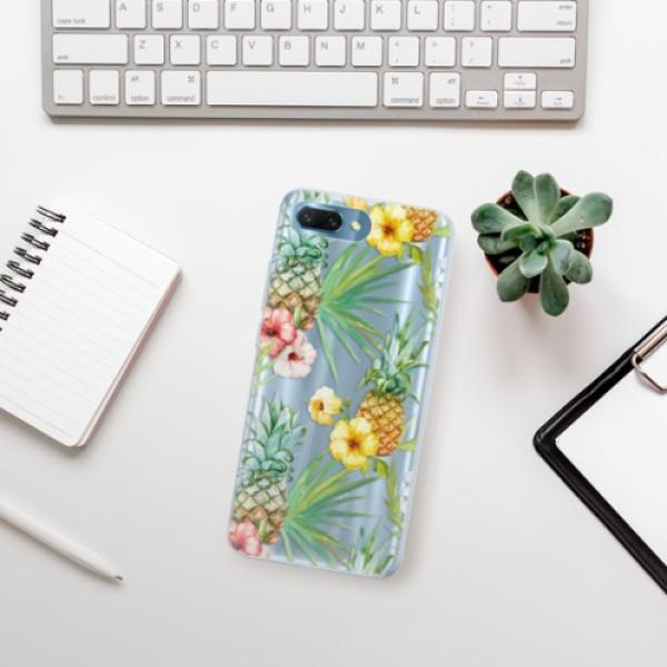 Silikonové pouzdro iSaprio - Pineapple Pattern 02 - Huawei Honor 10