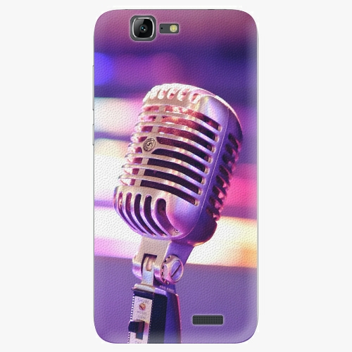 Plastový kryt iSaprio - Vintage Microphone - Huawei Ascend G7
