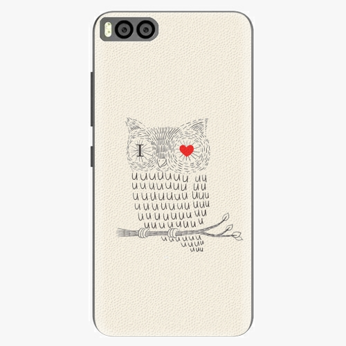 Plastový kryt iSaprio - I Love You 01 - Xiaomi Mi6