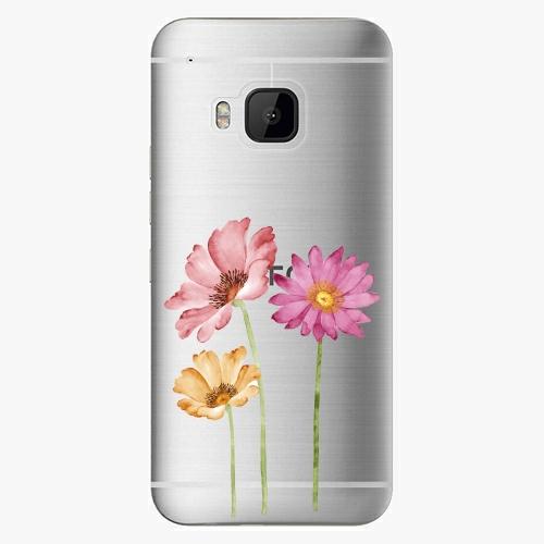 Plastový kryt iSaprio - Three Flowers - HTC One M9