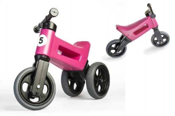 odrazedlo-funny-wheels-rider-sport-ruzove-2v1-vyska-sedla-28-30cm-nosnost-50kg-18m