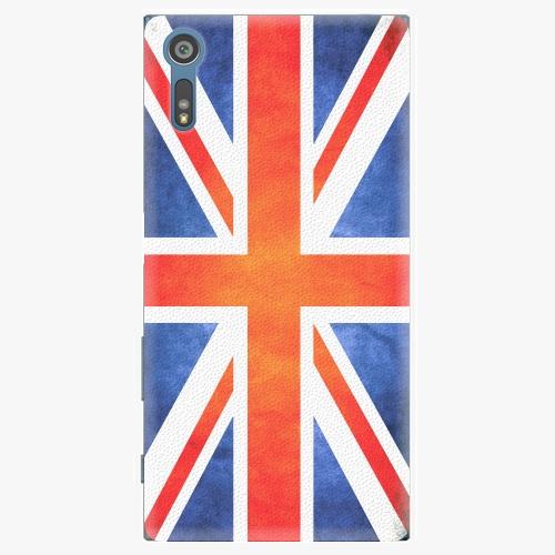 Plastový kryt iSaprio - UK Flag - Sony Xperia XZ