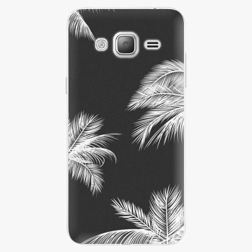 Plastový kryt iSaprio - White Palm - Samsung Galaxy J3 2016