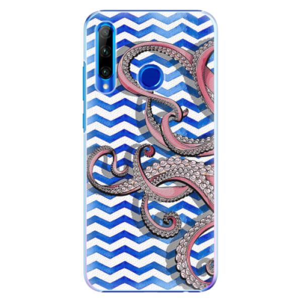 Plastové pouzdro iSaprio - Octopus - Huawei Honor 20 Lite