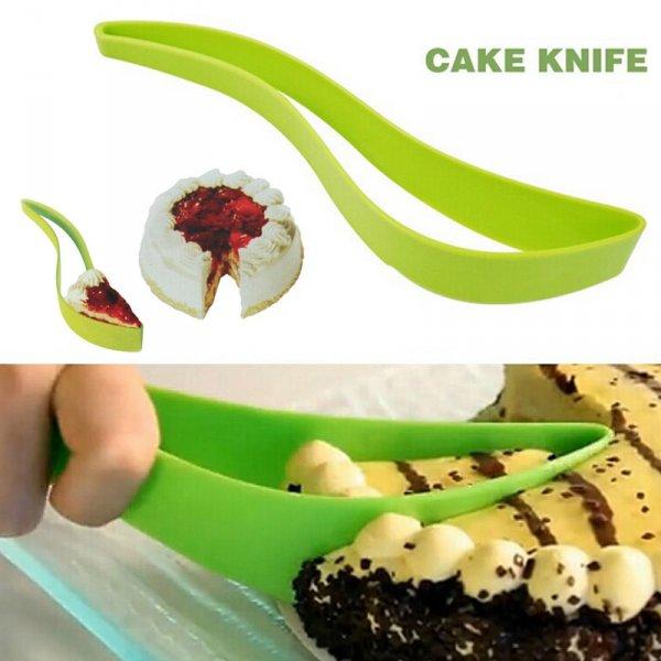 Silikonový chytrý kráječ dortů