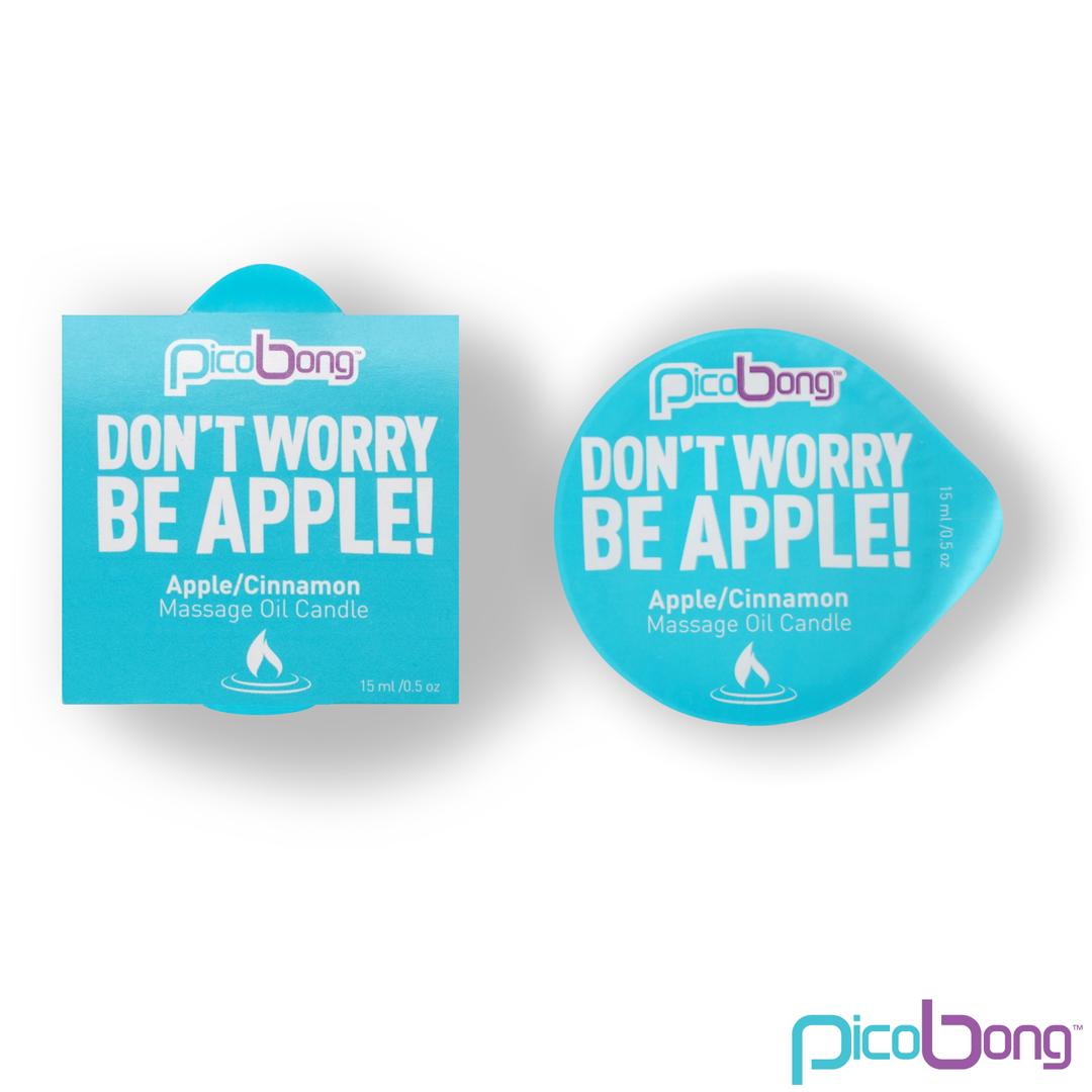 Masážní svíčka Picobong jablko skořice