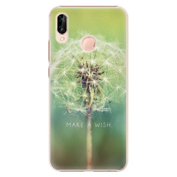 Plastové pouzdro iSaprio - Wish - Huawei P20 Lite