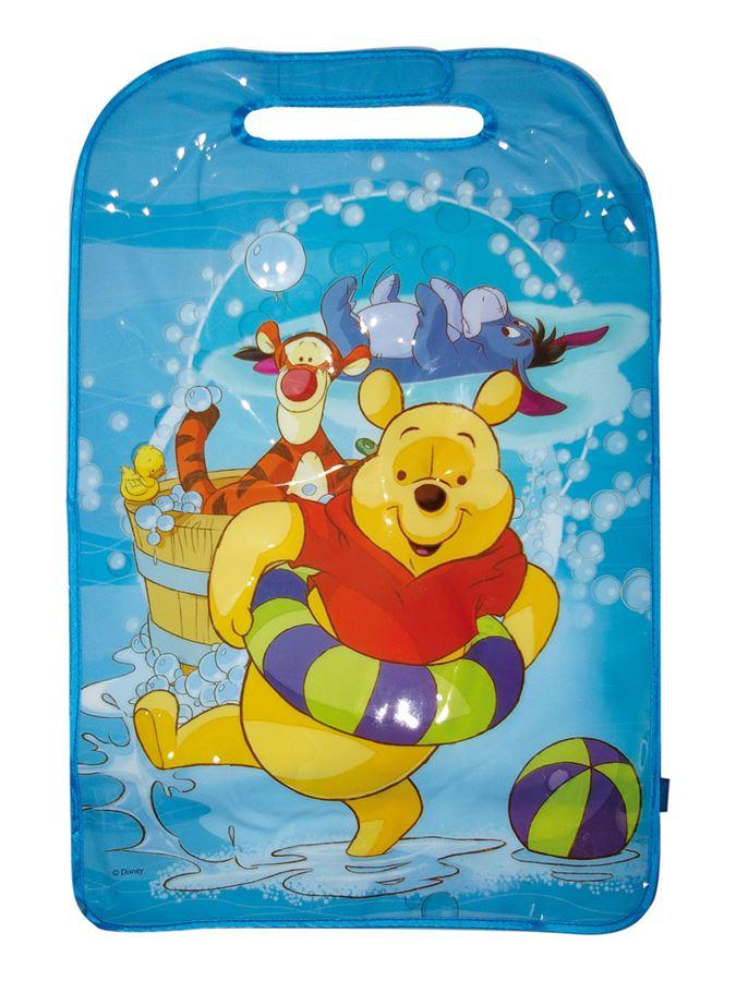 Ochranná folie na sedadlo - Medvídek Pú - žlutá