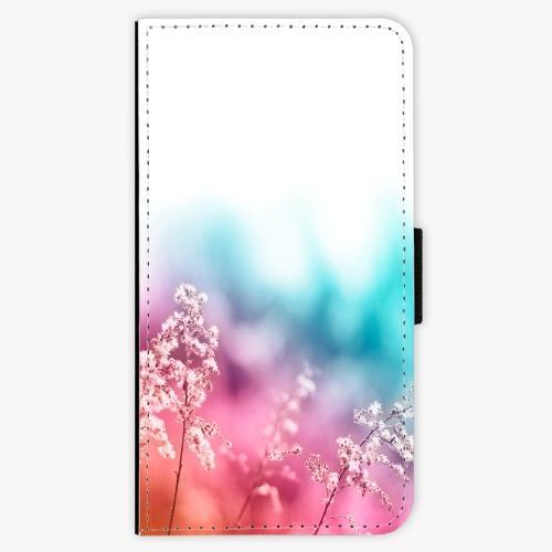 Flipové pouzdro iSaprio - Rainbow Grass - Huawei Ascend P8 Lite