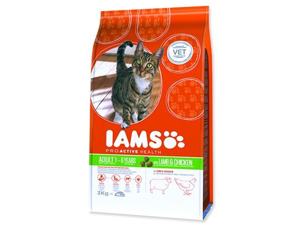 IAMS Cat rich in Lamb 3kg