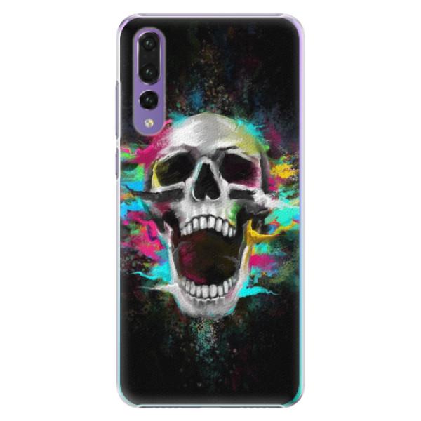 Plastové pouzdro iSaprio - Skull in Colors - Huawei P20 Pro