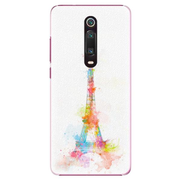 Plastové pouzdro iSaprio - Eiffel Tower - Xiaomi Mi 9T