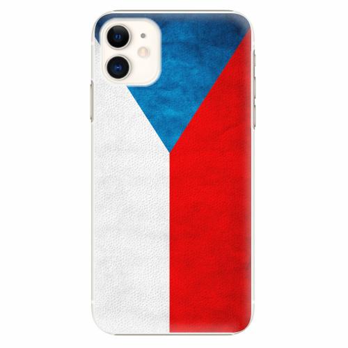Plastový kryt iSaprio - Czech Flag - iPhone 11