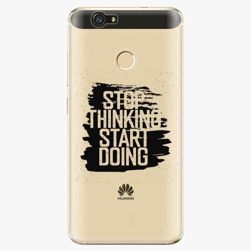 Plastový kryt iSaprio - Start Doing - black - Huawei Nova