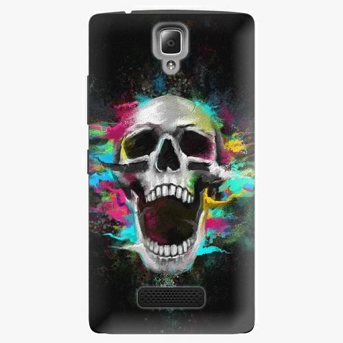 Plastový kryt iSaprio - Skull in Colors - Lenovo A2010