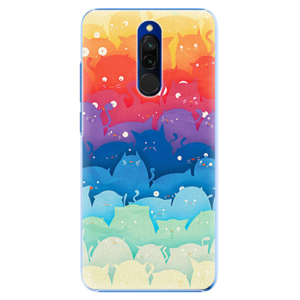 Plastové pouzdro iSaprio - Cats World - Xiaomi Redmi 8