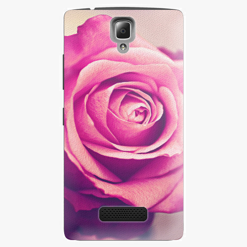 Plastový kryt iSaprio - Pink Rose - Lenovo A2010
