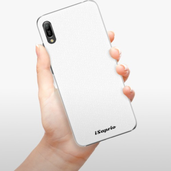 Plastové pouzdro iSaprio - 4Pure - bílý - Huawei Y6 2019