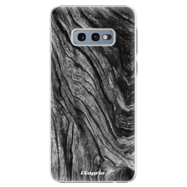 Plastové pouzdro iSaprio - Burned Wood - Samsung Galaxy S10e