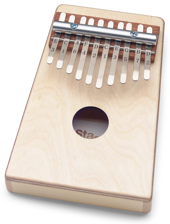 Stagg KALI-KID10-N, dětská kalimba. 10 tónů, přírodní