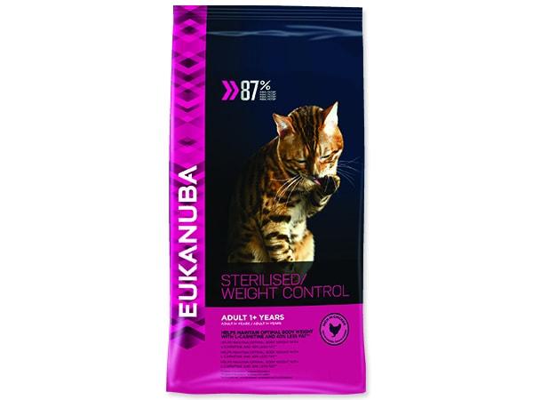 EUKANUBA Cat Adult Sterilised / Weight Control 1,5kg